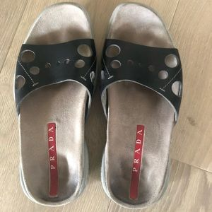 AUTHENTIC Prada sandals/flip flops